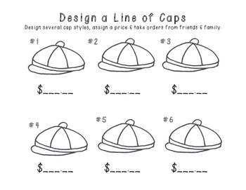 Design a Line of Caps