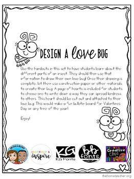 Design a Love Bug