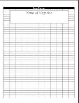 Design a Magazine Cover & Write the Articles About Yourself