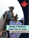 Design a Medieval Times Coat of Arms Interdisciplinary Project - CDN Spelling