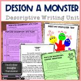Design a Monster Descriptive Writing Unit
