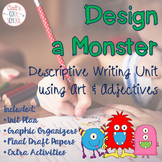 Halloween Writing: Design a Monster Descriptive Writing Unit