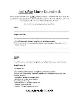 Design a Movie Soundtrack - Creative Project for Jack's Run