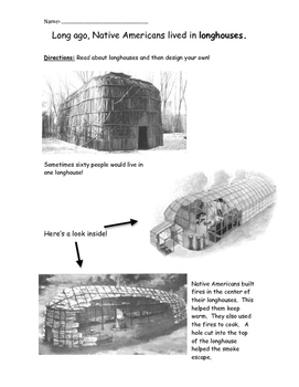 Design a Native American Long House
