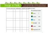 Design a Park - Decimals and Fractions Activity