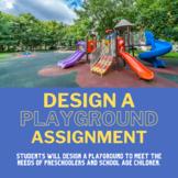 Design a Playground (Child Development; Education & Training)