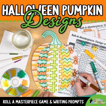 Design a Pumpkin Game {Halloween Activities and Art Sub Plans}