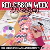 Design a Drug-Free Ribbon Game {Red Ribbon Week Activities