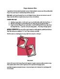 Design a Restaurant Menu-Creative writing/Art Project