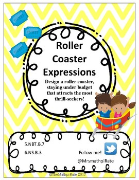 Design a Roller Coaster - Algebraic Expressions
