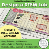 Design a STEM Lab, A Project Based Learning Activity (PBL)