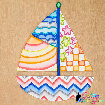 Design a Sailboat Game {Summer Activities and Art Sub Plans for June}