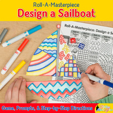 Design a Sailboat Game | Summer Activities and Art Sub Pla