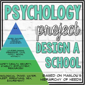 Design a School Project (Based on Maslow's Hierarchy of Needs)