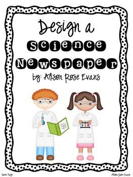 Design a Science Newspaper