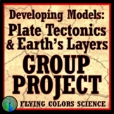 Design a Scientific Model: Earth's Layers & Plate Tectonics GROUP ACTIVITY