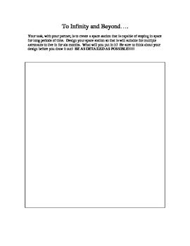 Design a Space Station Activity