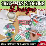 Design a Stocking Game   Christmas Activities, Art Sub Pla