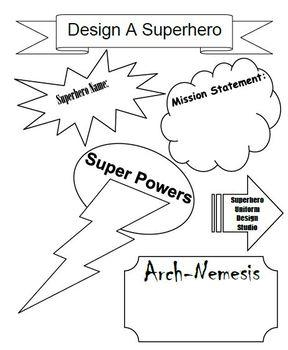 Design a Superhero