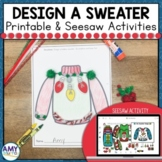Design a Sweater Project and Seesaw Activity for Distance