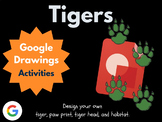 Design a Tiger with Google Drawings!