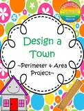 Design a Town - Perimeter & Area Project