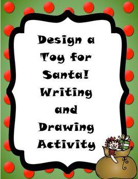 Christmas Design a Toy for Santa