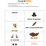 Design a Turkey Fitness - Remote/Distance Learning