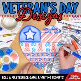Veteran's Day Activity   Design a Heart Game   Art Sub Pla