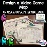 Design a Video Game Map- Area and Perimeter Project multip