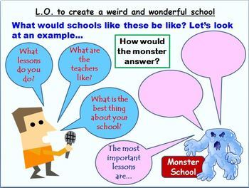 Design a Weird and Wonderful School: a creative writing project for Grades 4 & 5