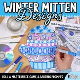 Design a Winter Mitten Game   Winter Activities, Art Sub P