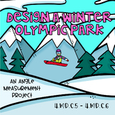 Design a Winter Olympic Park-Protractor Art Project-Measuring and Drawing Angles