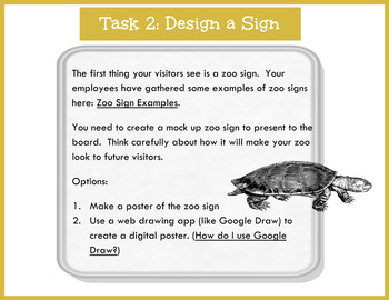 Design a Zoo: A Digital Project Based Learning Experience