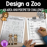 Design a Zoo An Area and Perimeter Project involving Multiplication and Division
