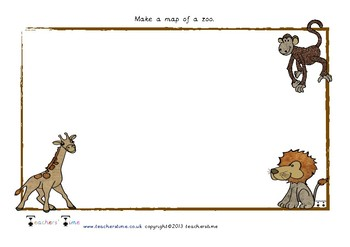 Design a Zoo Map
