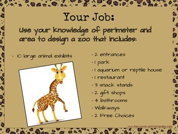 Design a Zoo Math Project