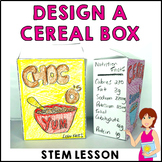 Design A Cereal Box STEM STEAM Activity