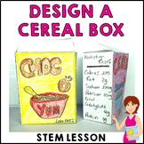 Design A Cereal Box STEM STEAM Activity