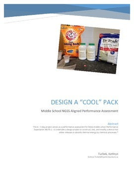 Design a cool pack