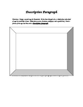 Design a new cage for Bunnicula Descriptive Writing