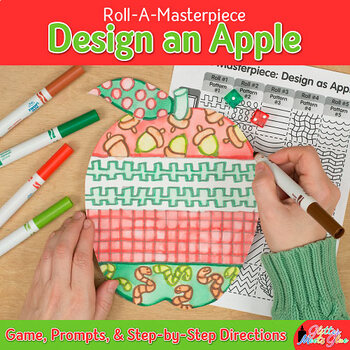 Design an Apple Game {Fall Activities & Art Sub Plan, Johnny Appleseed Ideas}