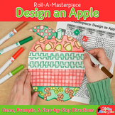 Fall Activities: Design an Apple Game, Art Sub Plan, & Writing Prompts