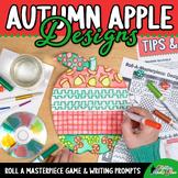 Design an Apple Game   Fall Activities & Art Sub Plan   Jo