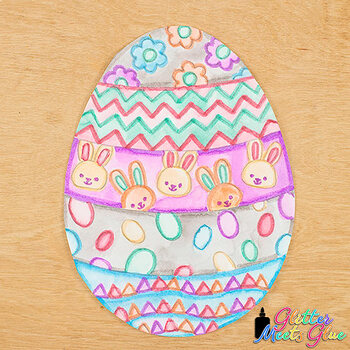 Design an Easter Egg Game {Spring Activities and Art Sub Plans for April Fun}
