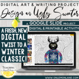 Design an Ugly Sweater Party Christmas Craft Digital Winter Holidays Art Project