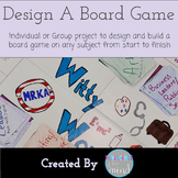 Design and Build a Board Game- Any Subject