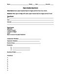 Design and Conduct Experiment/Scientific Method (Paper Airplane Design)