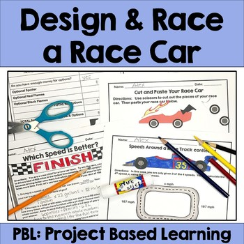 Race Car Project Based Learning (PBL)