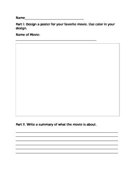 Design and Summarize